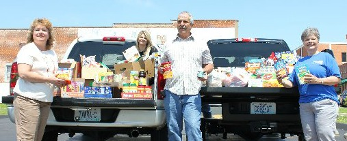 Chamber Cares Food Drive