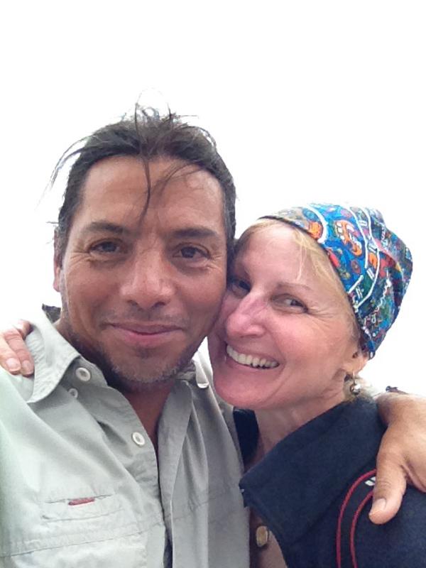 Linda and Eduardo