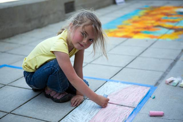 Napa Riverfront Chalk Festival, Arts in April 2014