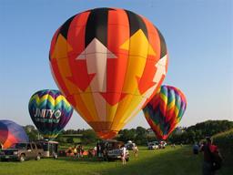 Warren County Fair Hot Air Balloon Festval