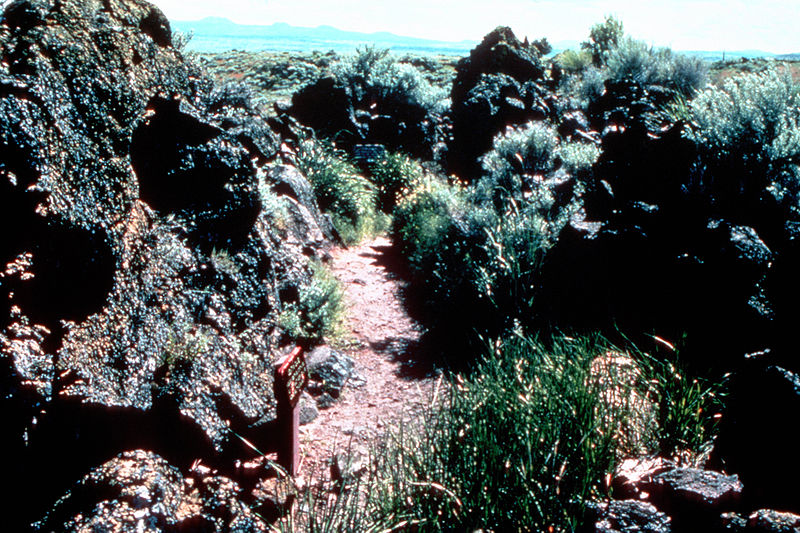 Lava Beds National Monument - Captain Jack's Stronghold