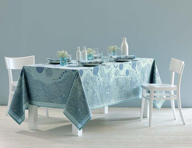Green Sweet High Tea Ocean Tablecloth