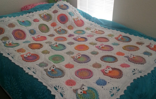 Owl Crochet Blanket Pattern Avarii Home Design Best Ideas