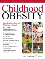 childhood obesity journal cover