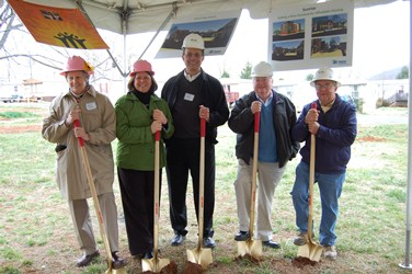 Board Meembers Sunrise Groundbreaking