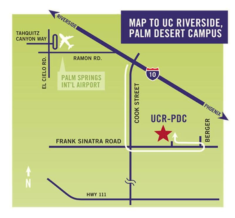 Map to UCRPD