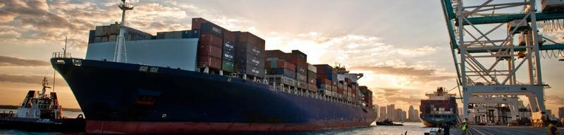 Port Miami - Cargo Ship