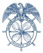 Propeller Club Logo - Blue