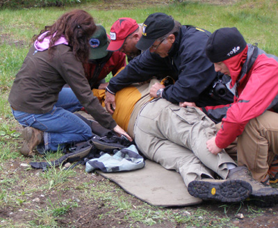 Wilderness Medical training