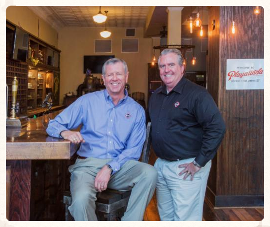 William and Al at Playalinda Brewing Co.