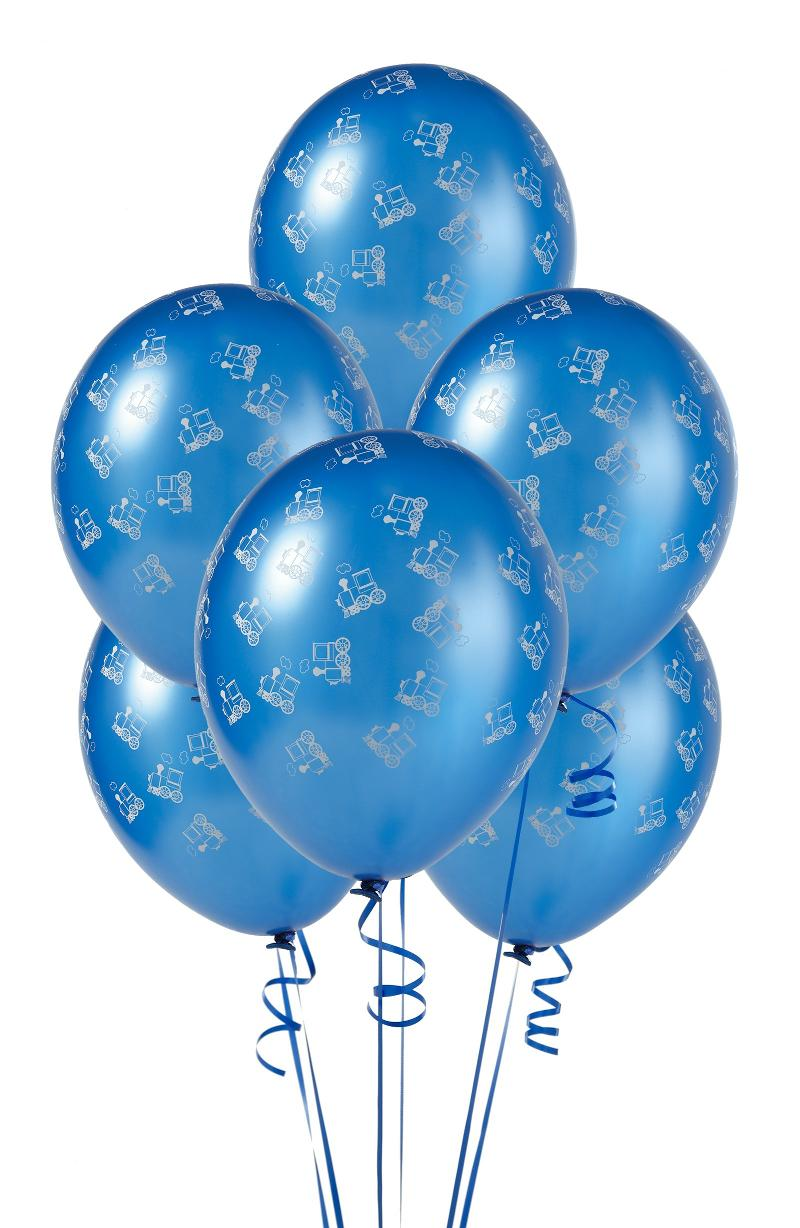 Blue Baloons