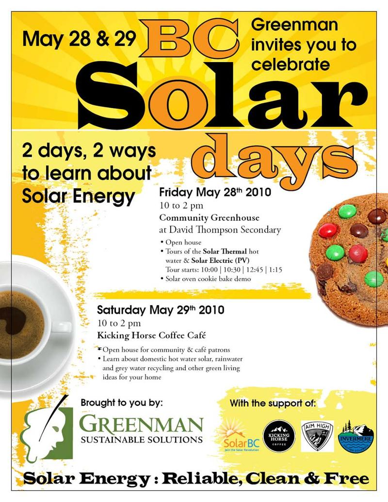 BC Solar Days Poster