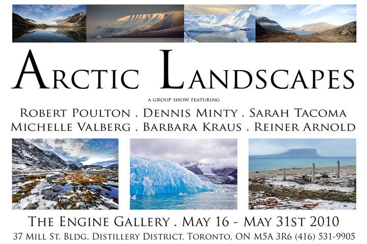 Arctic Landscapes Invitation