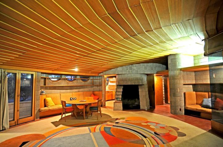 Gladys & David Wright House, Phoenix (interior)