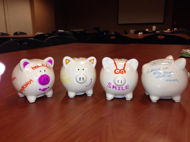 piggy bank exercises