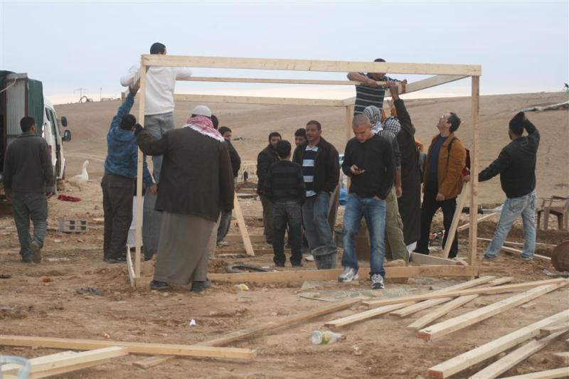 The Bedouin of Al-Arakib are rebuilding after 9 demolitions