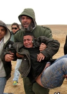 Bedouin Israeli boy shot by Israel Police at 9th demolition of Al-Arakib