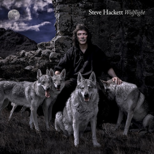 Steve Hackett WOLFLIGHT album cover