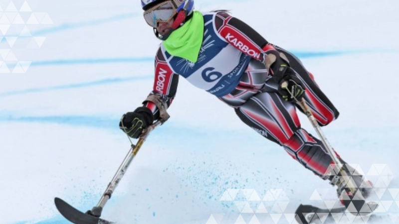 Alpine skiing image