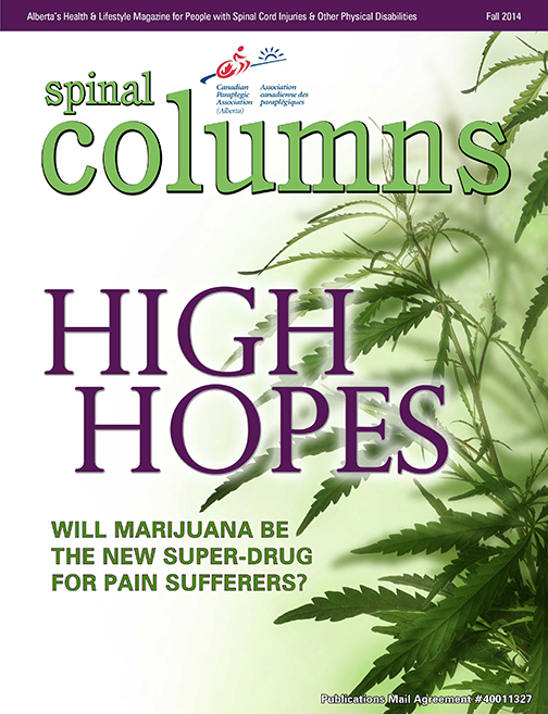 Cover for Fall 2014 issue of Spinal Columns
