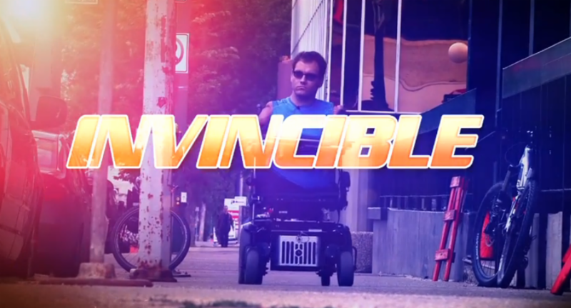 Invincible TV Series Image with Daniel Ennett