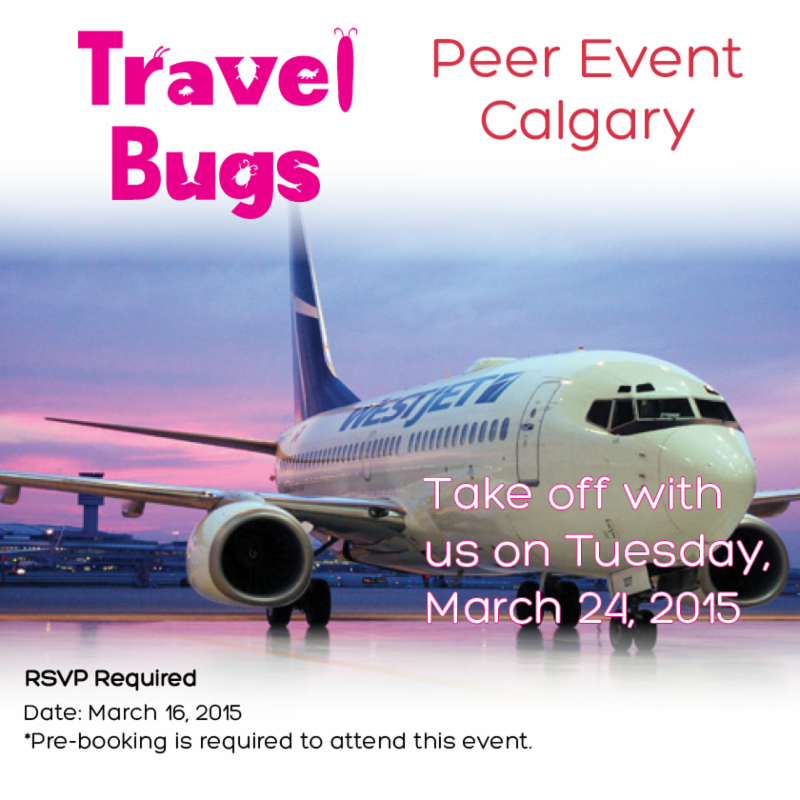 Calgary Travel Bugs Peer Event-March 24, 2015.