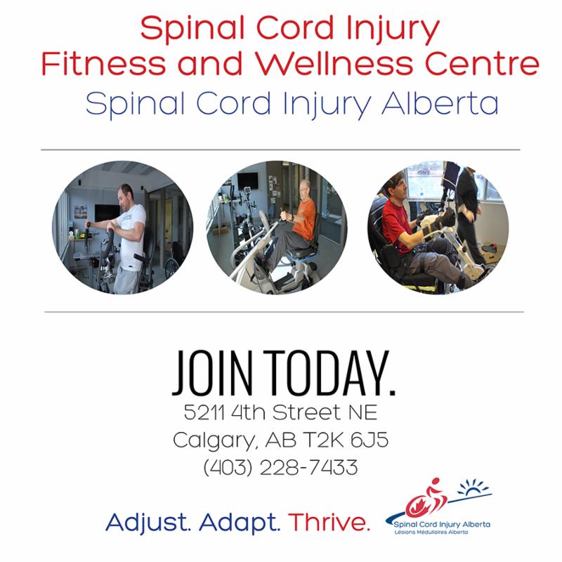 SCI Alberta Fitness Centre Ad