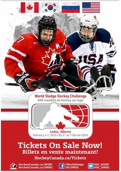 World Sledge Hockey Ticket Purchase Image