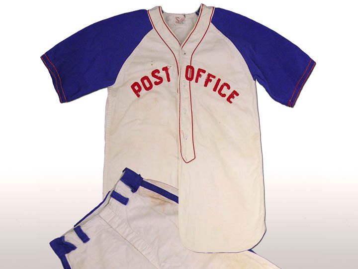 Post Office Baseball Uniform