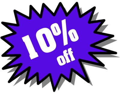 10% Off Image
