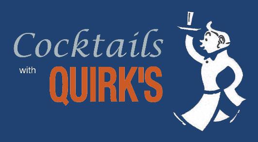 Blue Cocktails w Quirks