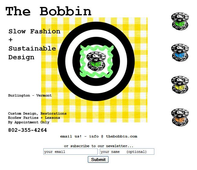 The Bobbin Website Home