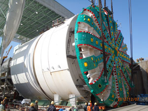 Alaska Viaduct Tunnel Machine