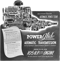 Chevrolet 1950 Powerglide