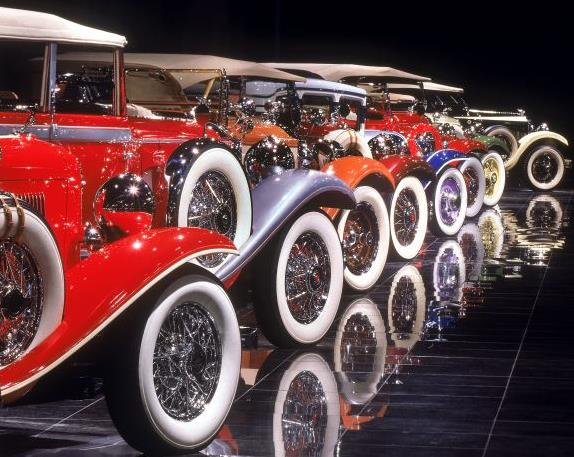 The Museum Showcases A Rotating Collection Of Fifty Five One Kind Custom Coachwork Clic Cars Limited Production And Concept Automobiles In