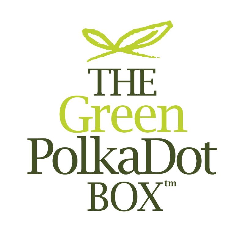Green PolkaDot Box