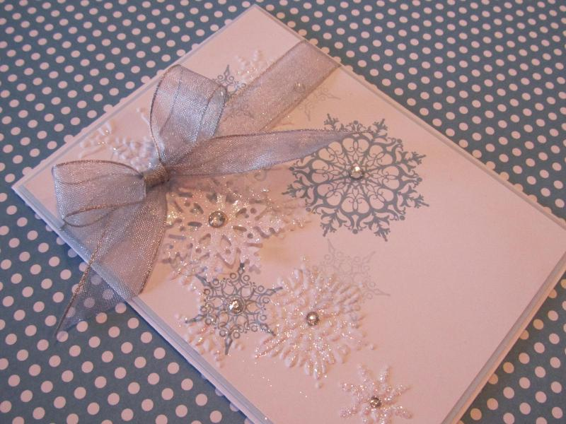 Bashful Blue Snowflakes