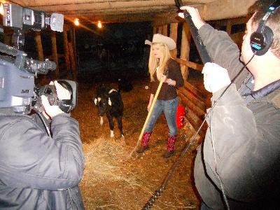 Teresa Scanlan & Real Videos at Hatcher Dairy Farm