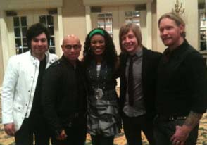 Circleslide with Nicole C. Mullen at NRB 2011