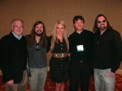 Jordan Elias and friends at NRB 2012