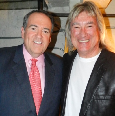 John Schlitt and Mike Huckabee