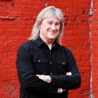 John Schlitt 2013 Headshot - Black Shirt
