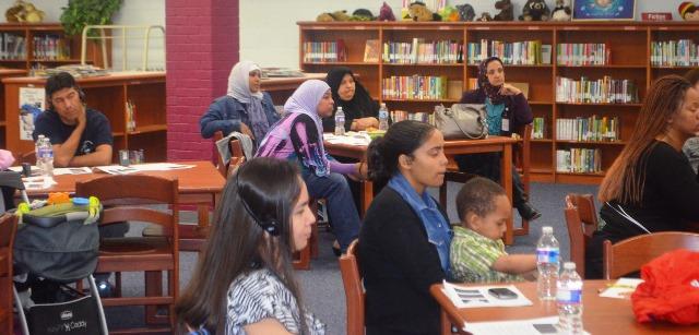Risky Behavior Presentation Audience at FACE Center