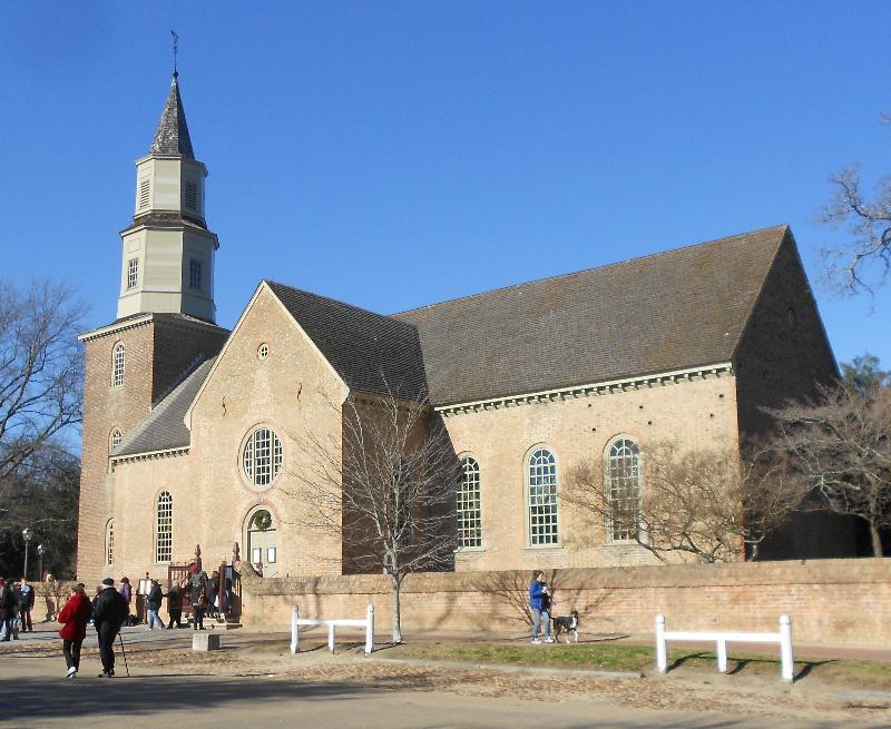 Burton Parish Church, Williamsburg