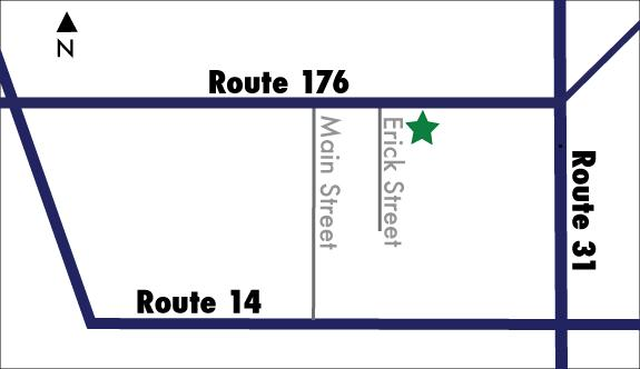 Street Map for directions to 413 E. Terra Cotta Avenue
