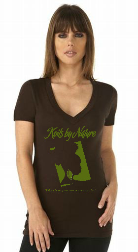 Koils by Nature Fitted Dark Chocolate T-Shirt