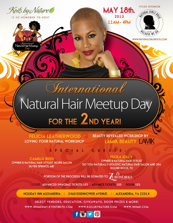 International Natural Hair Meetup Day DMV