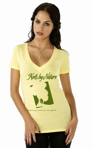 Koils by Nature Fitted Banana T-Shirt