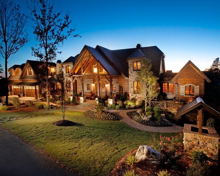 Modern Rustic Homes And Barna Log Timber Homes Mini