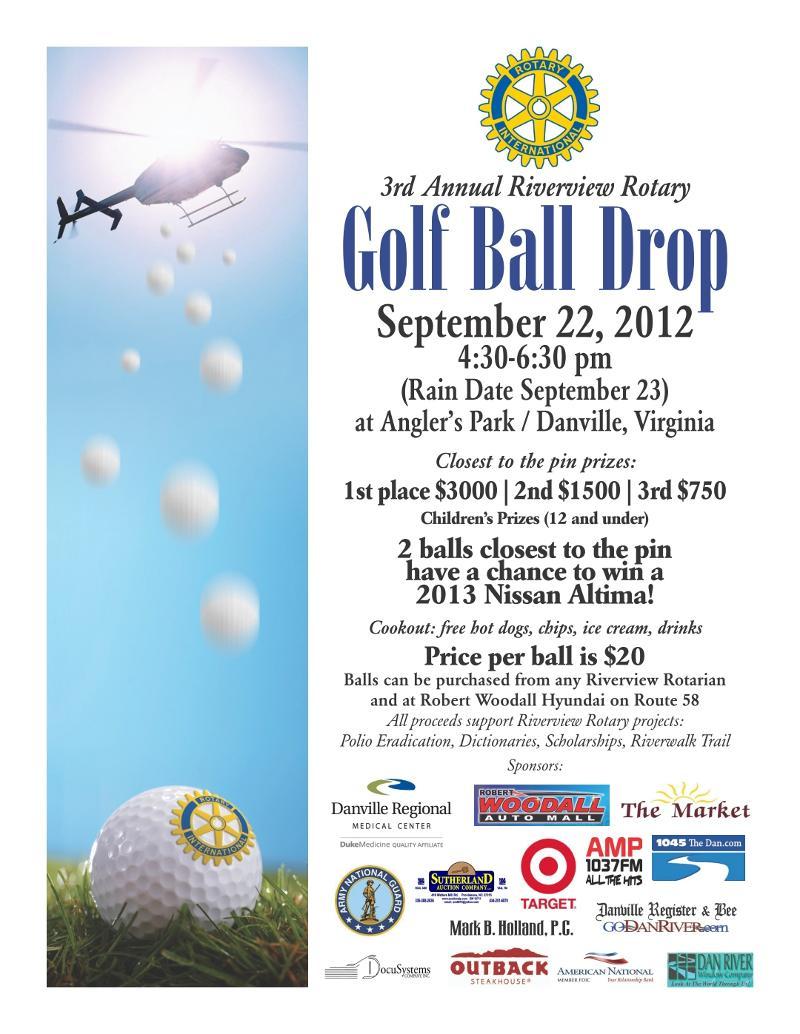 2012 Golf Ball Drop